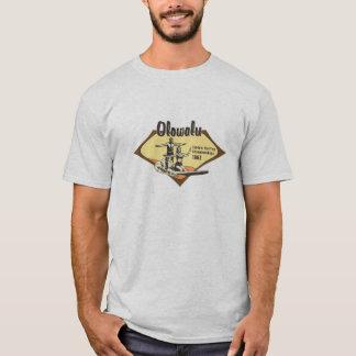 Camiseta Tandem que surfa retro havaiano