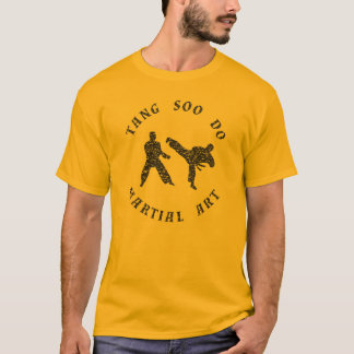 Camiseta Tang Soo faz silhuetas