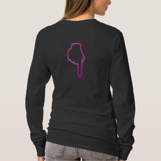 Camiseta TANGA COR-DE-ROSA no USO (luva longa)