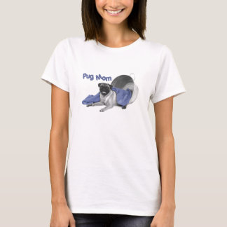 Camiseta Tanque da mamã do Pug