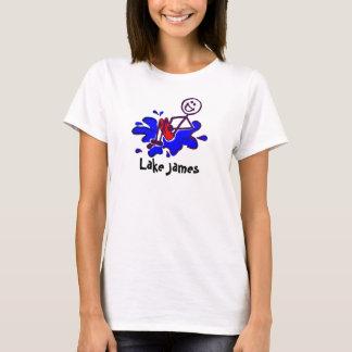 Camiseta Tanque das senhoras da bala de canhão de James do