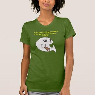 Camiseta Tanque das senhoras do Razorback do selo de bebê