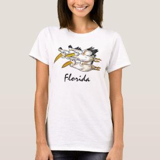 Camiseta Tanque das senhoras dos pelicanos de Florida