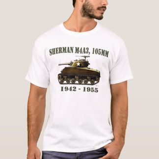 Camiseta Tanque de Sherman M4A3