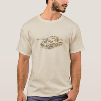 Camiseta Tanque do alemão de JagdTiger
