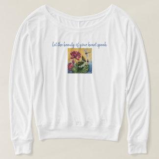 Camiseta Tanque do músculo de Flowy da arte da libélula das