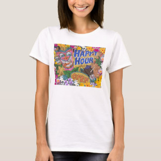 Camiseta Tanque do partido de Luau do happy hour