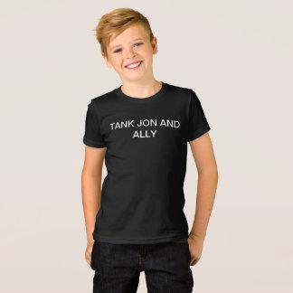 Camiseta Tanque, Jon, e meio da juventude do menino do