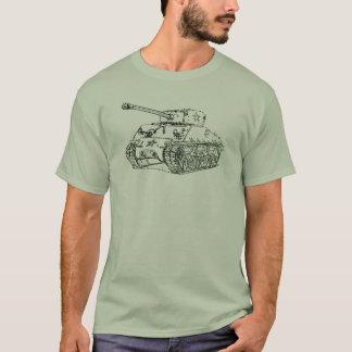 Camiseta Tanque M4A3 de Sherman