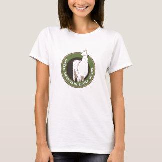 Camiseta Tanque verde dos feijões do lama da montanha