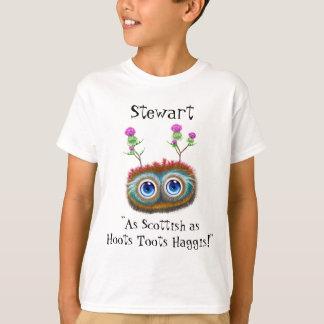 Camiseta Tão escocês personalizado quanto Toots Haggis das