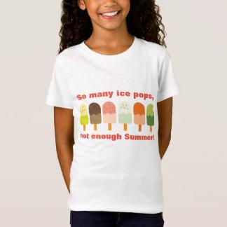 Camiseta Tão muitos gelo estalam não bastante sorvete