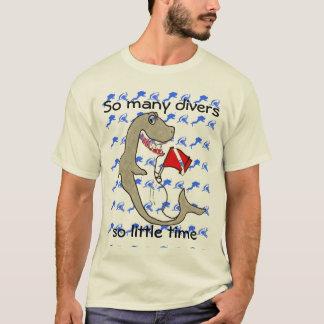 Camiseta Tão muitos mergulhadores