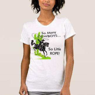 Camiseta Tão muitos VAQUEIROS… tão pouca CORDA!