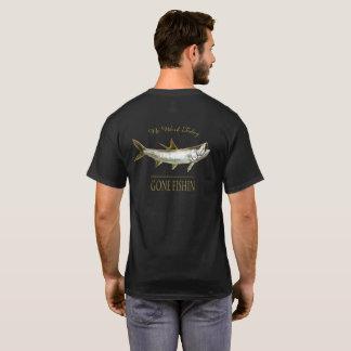 Camiseta Tarpão do ouro, nenhum trabalho hoje