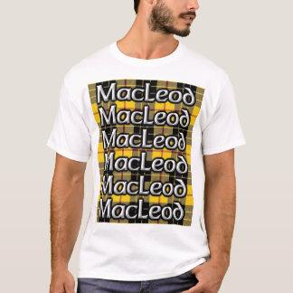 Camiseta Tartan alto do Scottish do clã de MacLeod