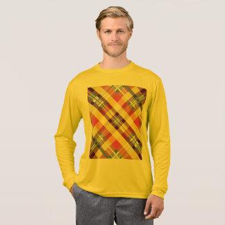 Camiseta Tartan amarelo