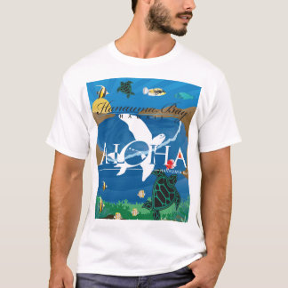 Camiseta Tartaruga das ilhas de Havaí Aloha