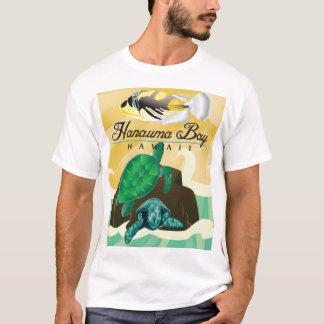 Camiseta Tartaruga de Havaí da baía de Hanauma