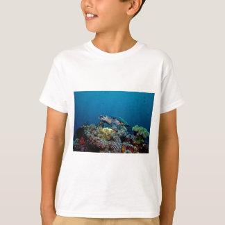 Camiseta Tartaruga de Hawkbill