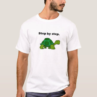 Camiseta Tartaruga de vencimento persistente da tartaruga