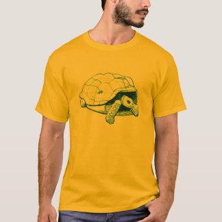 Camiseta tartaruga do aldabra com geco