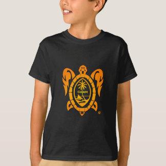 Camiseta tartaruga do sunburst
