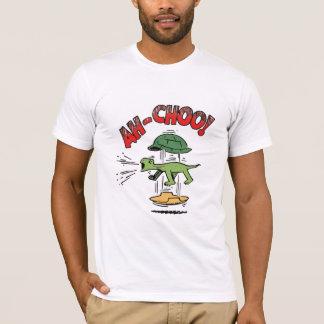Camiseta Tartaruga Sneezing
