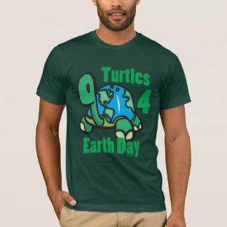 Camiseta Tartarugas para o t-shirt do Dia da Terra