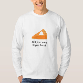 Camiseta Tarte de abóbora: Slogan customizável