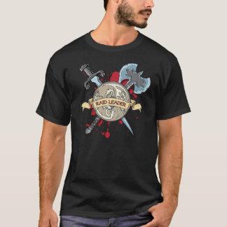 Camiseta Tatuagem do LÍDER do RAID - espada, machado, e