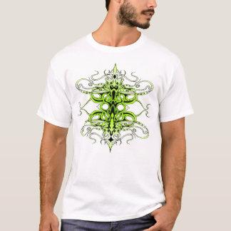 Camiseta Tatuagem tribal do império - verde