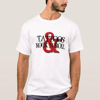 Camiseta Tatuagens & rolo da rocha N