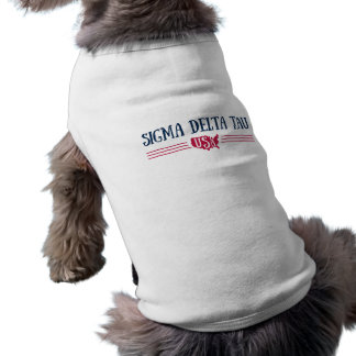 Camiseta Tau | EUA do delta do Sigma