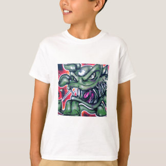 Camiseta Taurian - grafite mau da arte da pintura pistola