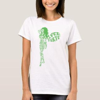 Camiseta Taxa enrolada Verte do La