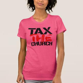 Camiseta Taxe a igreja - religião do imposto -- Nenhuma