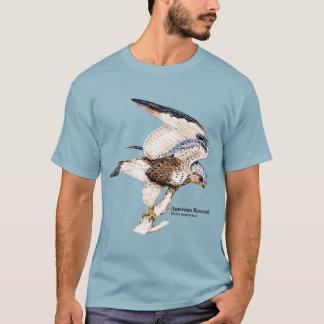 Camiseta TCWC - Ilustração americana do Kestrel dos homens