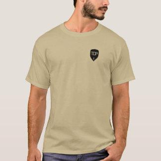 Camiseta TDP - T-shirt de Brown - agarre um livro e uma