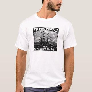 Camiseta Tea party americano novo 2009