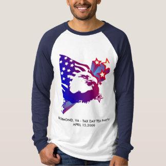 Camiseta Tea party do dia do imposto - Richmond-VA_#2