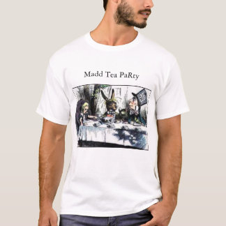 Camiseta Tea party louco