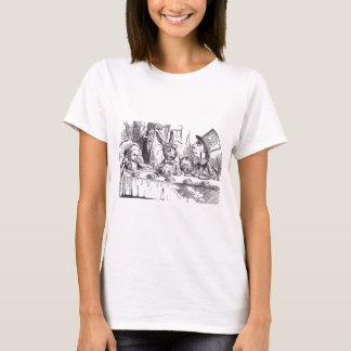 Camiseta Tea party louco do Hatter