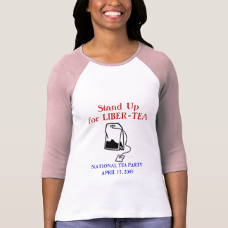 Camiseta Tea party nacional