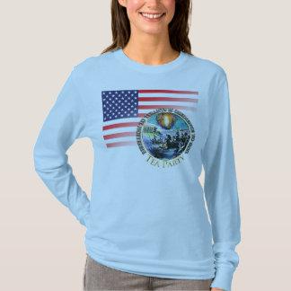 Camiseta Tea party - rebelião aos t-shirt dos tirano
