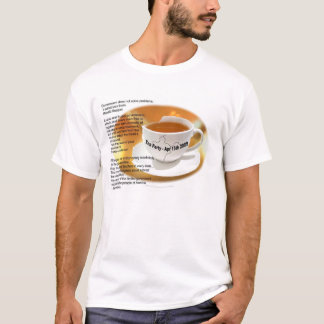 Camiseta Tea party t-shirt do 15 de abril de 2009
