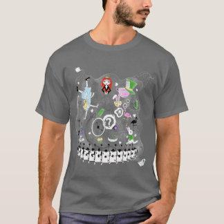 Camiseta Teacups do país das maravilhas
