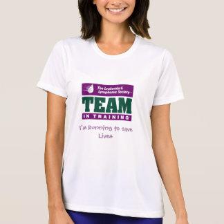 Camiseta Team no treinamento, mim estão funcionando para