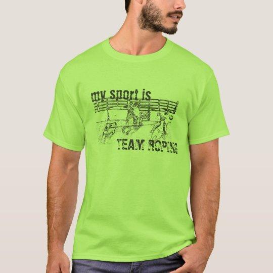 Camiseta Team Roping