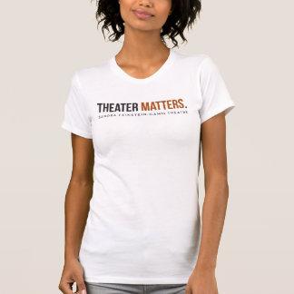Camiseta Teatro de Gamm - matérias do teatro - o T cabido
